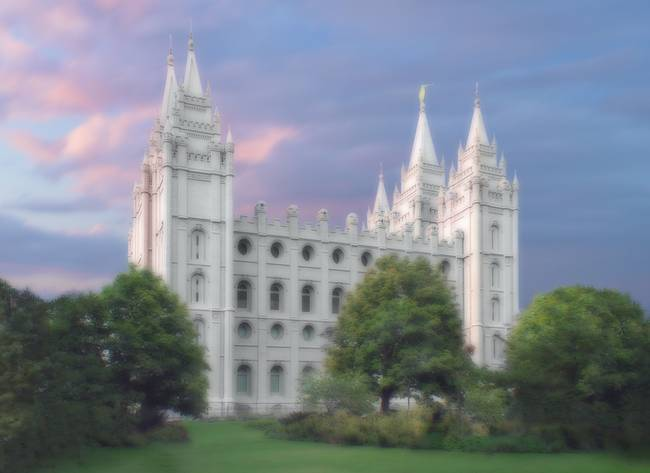 Salt Lake Temple / Summer