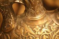 Brass Vase Carvings