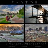 Dayton Four Image Poster Print by Jim Crotty by Jim Crotty