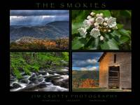 Smoky Mountains Four Image Poster Print