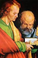 The Apostles Johannes and Petrus Detail