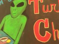 Aliens love turkey chili