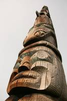 Totem Pole , Vancouver, Canada