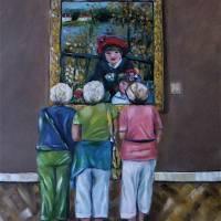 Sisters Art Prints & Posters by DyanneParker