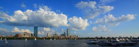 Blue Skies over Boston