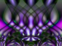 Trance-lucent Purple Patterns