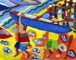 The Boat Race by Jennifer Lommers