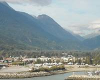 Mountains Rising Above Skagway