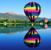 Pikes Peak Reflections of the Colorado Balloon Cla