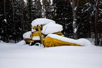 Abandoned Snow Plow
