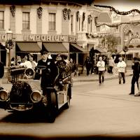 Vintage Main Street Disney Art Prints & Posters by Stephanie Albao