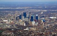Downtown Minneapolis Skyline, 28 March 2008