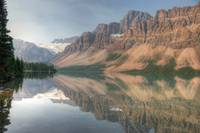 Canadian Mountain Reflection