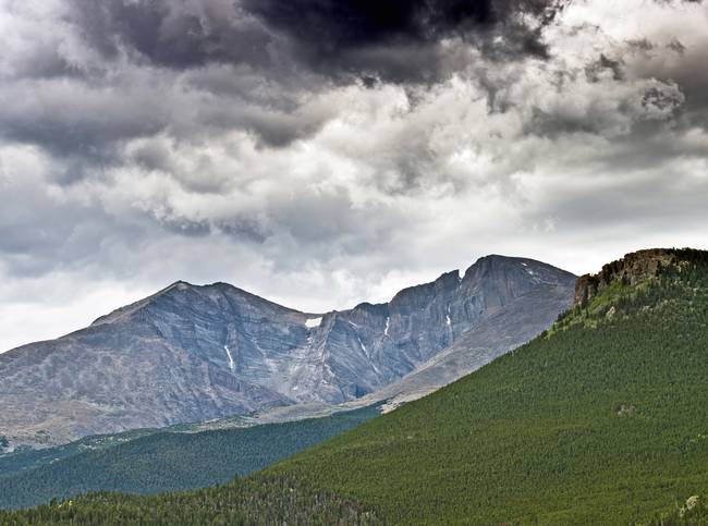 Mount Meeker, Longs Peak, Colorado Rocky Mountains