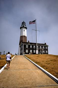 The Climb up to Montauk Lighthouse by New Yorkled