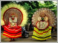 THEYYAM- A RITUAL DANCE OF KERALA