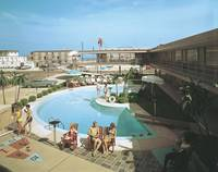 Caribbean Motel, Wildwood, New Jersey -  Pool 1960