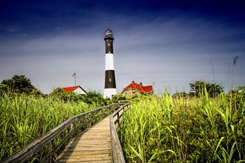 Path to the Fire Island Lighthouse by New Yorkled