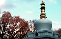 Tibetan Buddhist Stupa, Fall