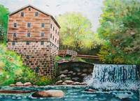 Lanterman's Falls (Old Mill)