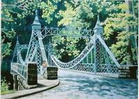 Silver Suspension Bridge