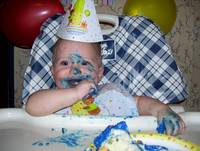 Happy 1st birthday Hunter Bug!!