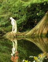 Statue by the Pond