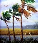 Wading Birds by Mazz Original Paintings