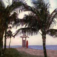 Lifeguard Stand North, Ft Lauderdale Beach FL by Joe Gemignani