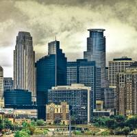 """Minneapolis, MN skyline"" by kodiax2"