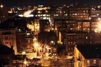 Baltimore view @ night
