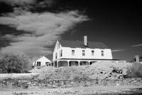 Coastal New England house in Infra Red