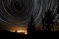 Star Trails over the Rogue Valley