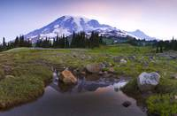 Dawn on Mt. Rainier