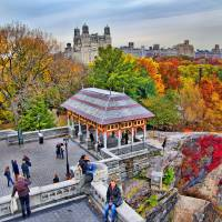 """Looking down from Belvedere Castle"" by New-Yorkled"