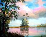 Southern Tranquility by Mazz Original Paintings