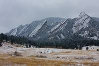 Flatirons and Chautauqua Park