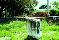 The ruins of Ostia Antica - Roman Seaport