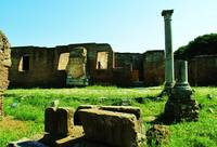 The ruins of Ostia Antica - Rome, Italy