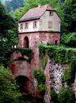 heidelberg castle bridge house