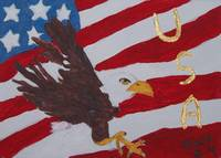 Eagle USA Flag