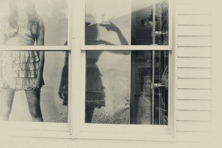 Window Shopper by DApixara Black White Photos
