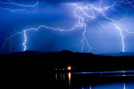 Lightning Blues by James