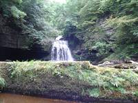 Waterfall Yorkshire dales