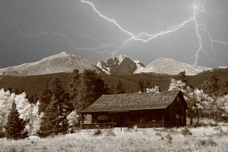 Mountain Lightning Retreat