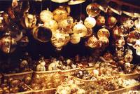 Christmas Time in a Vienna Marketplace
