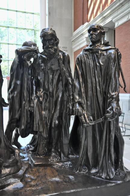 The Burghers of Calais )Detail II(