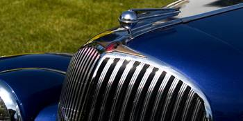 1935 Oldsmobile Blue