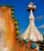 Casa Batllo Roof by Paul Gaither
