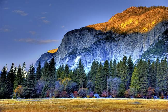 Ahwahnee Meadow Sunrise